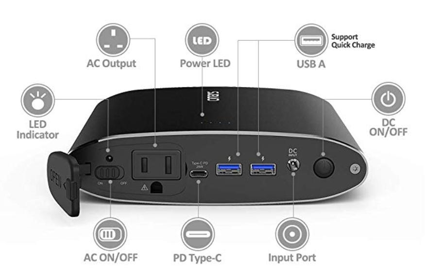 portable AC power bank
