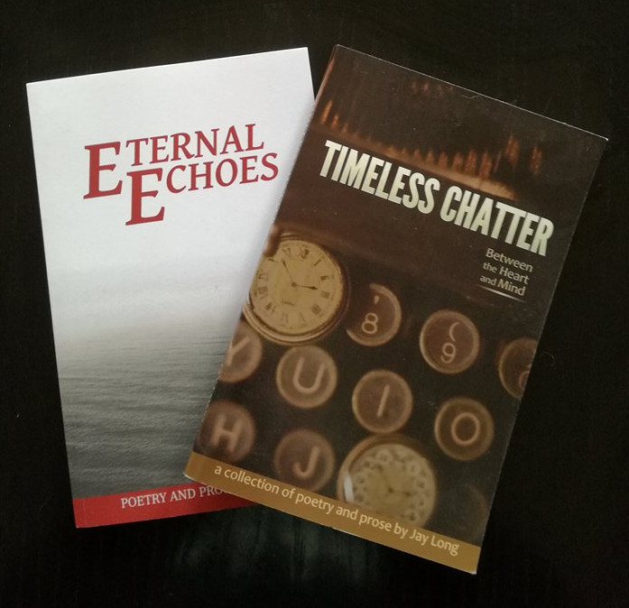 Eternal Echoes Timeless Chatter Jay Long Poetry Collection